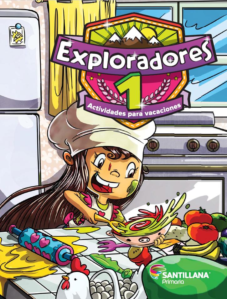 Exploradores 1 Actividades para vacaciones