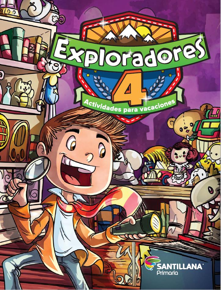 Exploradores 4 Actividades para vacaciones